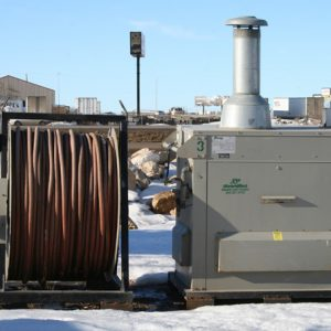 Small Dry Air Temporary Heat Boilers - #1