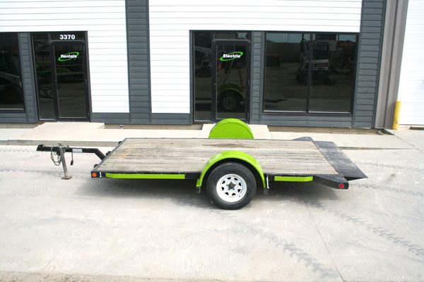 12' Single Axel Trailer