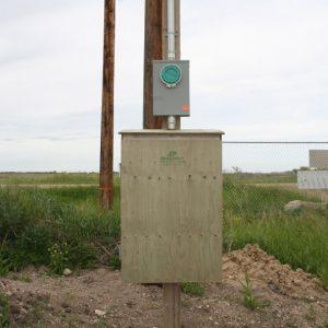 200A Pole Temporary Service - #1