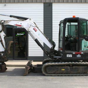 Excavator Attachment PC 30 Plate Tamper - #1